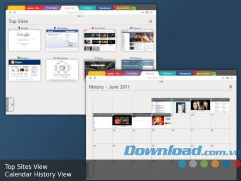 CloudSurfer Free für iPad 1.2.1 - Mobiler Webbrowser für iPad