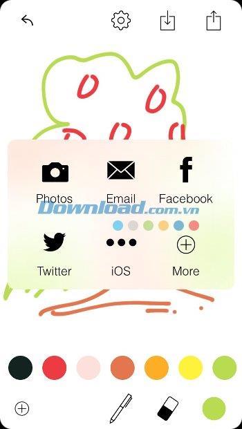 Tayasui Memopad pour iOS 3.0 - Dessinez et notes manuscrites sur iPhone / iPad