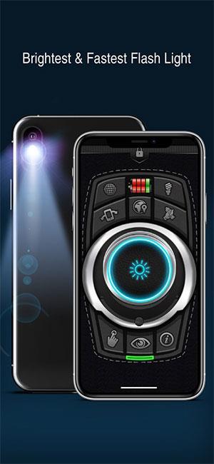 Meilleure lumière flash!  pour iOS 7.8 - Application de lampe de poche multifonction pour iPhone / iPad