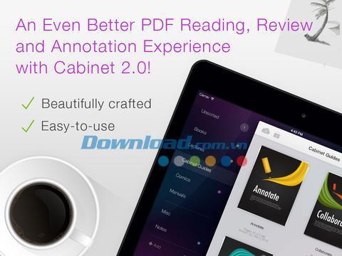 PDF Cabinet für iPad 2.3.1 - Verwalten von PDF-Dokumenten auf dem iPad