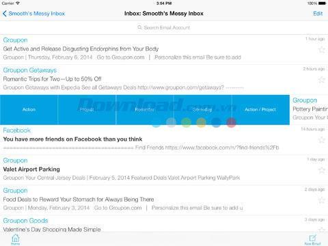 iOS2.4.6用IQTELLメールアプリ-iPhone / iPadでのスマートメール整理