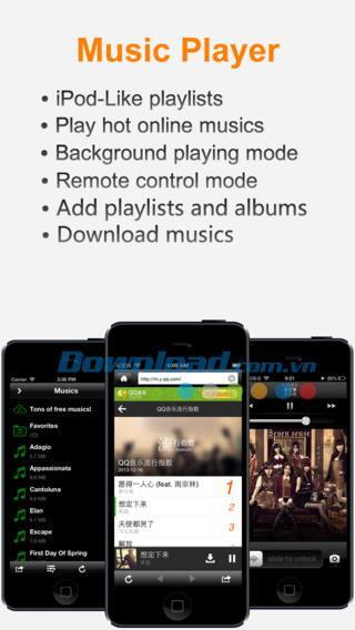 USB Love pour iOS 4.0.1 - Gestionnaire de fichiers multifonctionnel sur iPhone / iPad