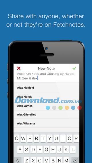 Fetchnotes für iOS 3.0.3 - Umfassende Notizverwaltung auf iPhone / iPad