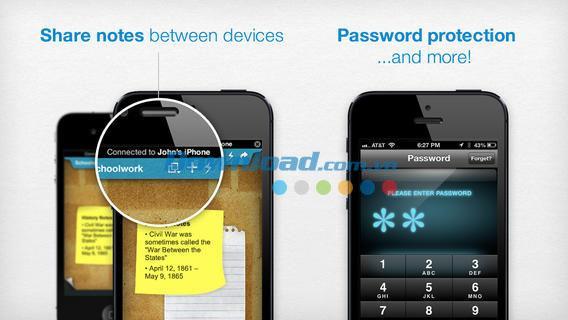 iOS4.1.3の付箋-iPhone / iPadの個人的なリマインダーとメモ