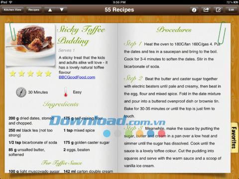 RecipePad Lite für iPad 1.2.2 - Kostenlose Kochanleitung für iPad