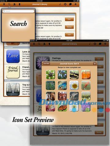 タブレットジャーナルforiPad3.62-iPad用パーソナルジャーナルアプリケーション