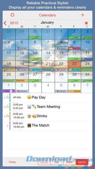 PocketLife Calendar for iOS 10.0-iPhone / iPadの美しいパーソナルカレンダー
