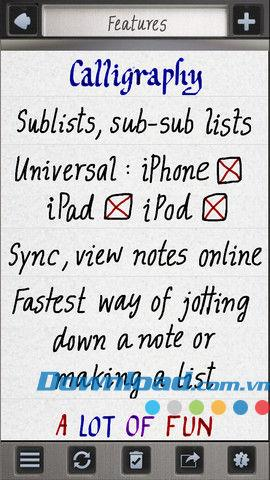 Use Your Handwriting Gold pour iOS 7.1 - Créez des notes manuscrites pour iPhone / iPad