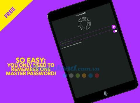 F-Secure Key pour iOS 2.1.3 - Gérez et générez des mots de passe forts sur iPhone / iPad