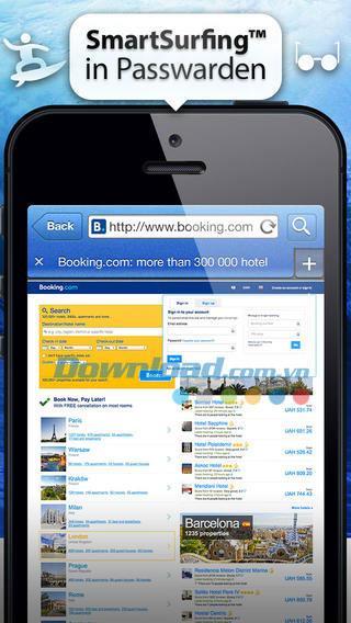 Passwarden für iOS 2.0.1 - Sichere Online-Daten auf iPhone / iPad
