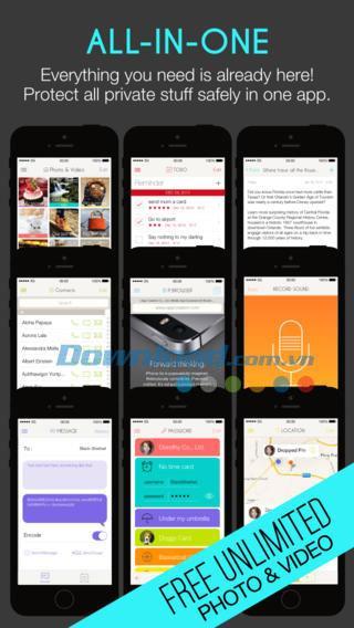 Calculator Lock Free pour iOS 1.0.0 - Sécurisez vos photos et vidéos en toute sécurité sur iPhone / iPad