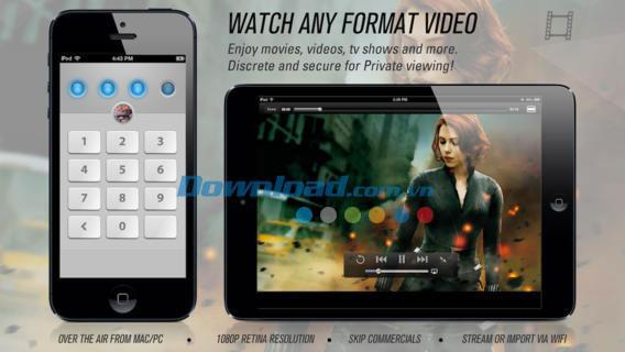 Video Safe 2 Free for iOS 2.1.4-iPhone / iPadの安全なビデオと写真