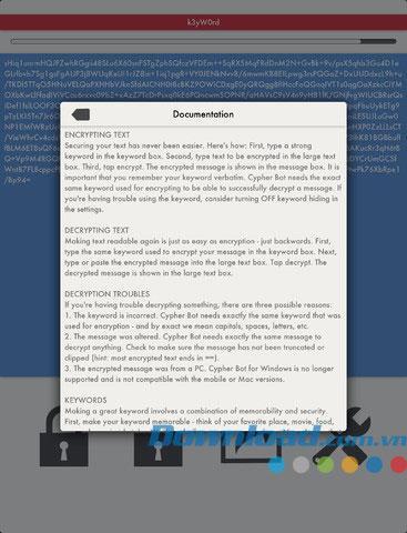 Cypher Bot Lite für iOS 2.0 - Sichere persönliche Daten für iPhone / iPad