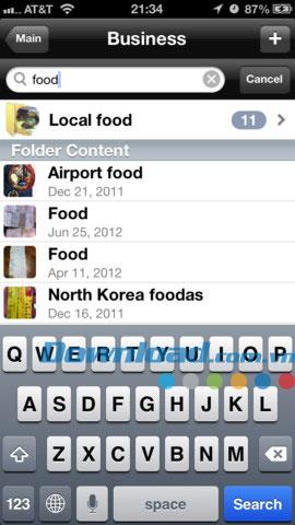 Secure Filebox pour iOS 4.0 - Données personnelles sécurisées pour iPhone / iPad