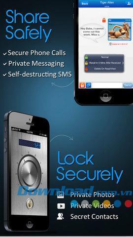 CoverMe pour iOS 1.0.3 - Données personnelles sécurisées pour iPhone / iPad