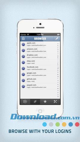SafeWallet für iOS 3.0.5 - Sichere persönliche Daten für iPhone / iPad