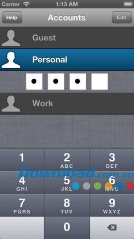 iOS2.2.2用のStashFree-iPhone / iPad用の安全な個人データ