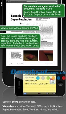Vault for iOS 3.0.6-iPhone / iPad用の安全なデータストレージ
