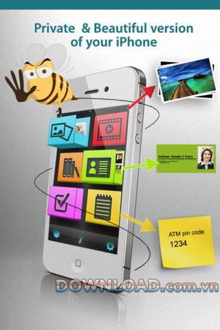 MyThings pour iOS - Logiciel de sécurité des données pour iPhone