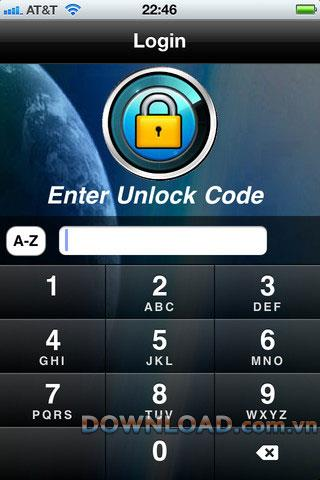 iPassSafe Free pour iOS - Protection par mot de passe