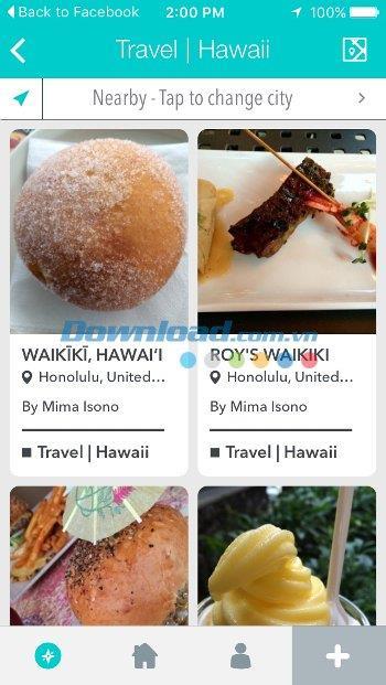 Spottly pour iOS 3.0 - Découvrez des attractions intéressantes sur iPhone / iPad