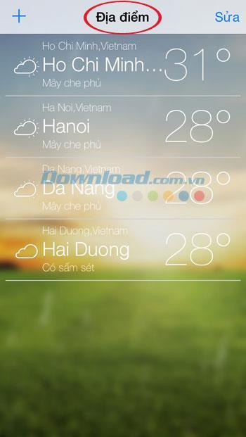 Live Weather Free für iOS 1.1 - Praktische Wetter-App für iPhone / iPad