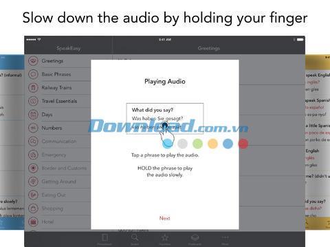 SpeakEasy für iOS 3.2 - Schnelles Sprachenlernen auf iPhone / iPad