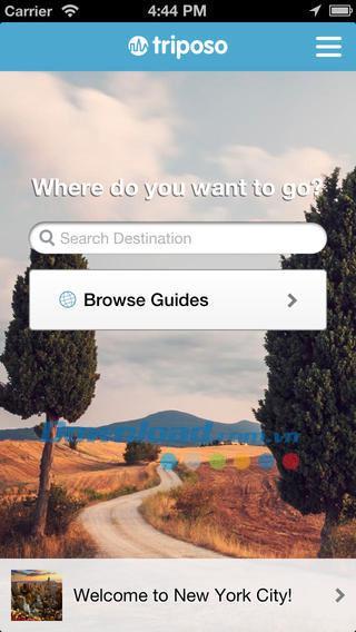 Triposo für iOS 2.6.1 - Weltreiseführer für iPhone / iPad