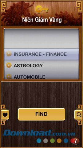 Goldenes Jahrbuch für iOS 1.1 - Suche nach einem Unternehmensstandort