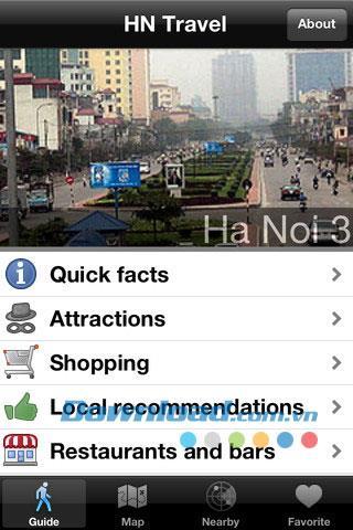 Vietnam Tours pour iOS 1.0 - Rechercher des sites touristiques vietnamiens