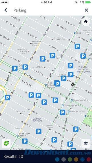 ここWeGofor iOS 2.0.56-オフライン地図アプリケーション、市内の道順