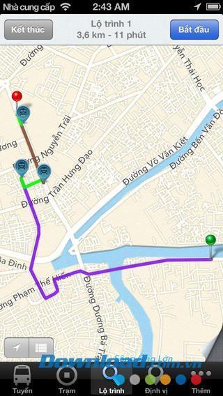 BUSITUS für iOS 1.0 - Suchen Sie nach der nächsten Busroute