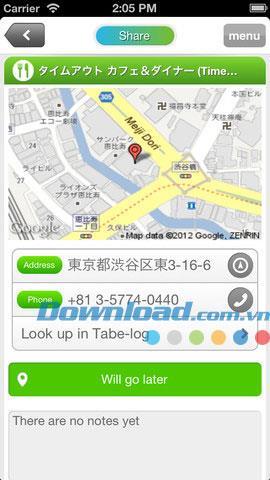 Carry für iOS 1.30 - Verwalten Sie Unterhaltungsorte für iPhone / iPad