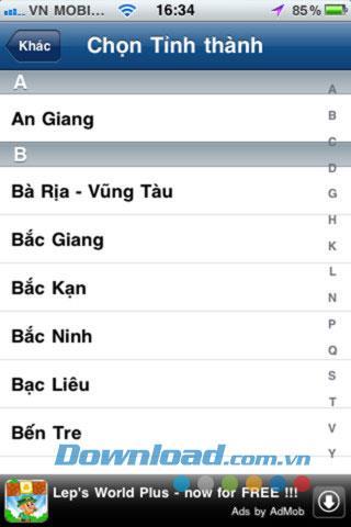 SmartMyMap pour iOS 1.2 - Fournit des cartes sur le téléphone