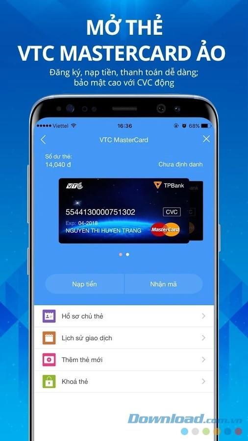 VTC Pay für iOS 8.9.2 - VTC E-Wallet