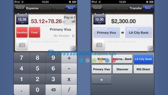 Money Story Book Lite pour iOS 1.8.2 - Gestionnaire de finances personnelles pour iPhone / iPad