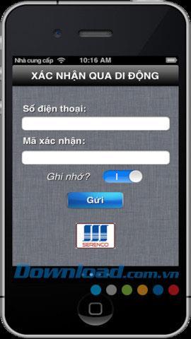 Banking für iOS 1.2 - Software, die Online-Transaktionen unterstützt