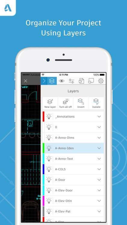 AutoCAD for iOS 5.3.2 - Lire et modifier des dessins AutoCAD sur iPhone / iPad