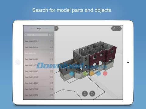 A360 for iOS 2.4-iPhone / iPadで2Dおよび3D図面を表示