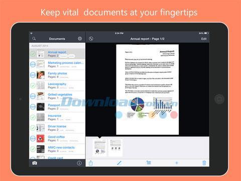 Fine Scanner für iOS 4.1 - Scannen Sie qualitativ hochwertige Bilder auf dem iPhone / iPad
