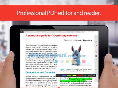TinyPDF pour iOS 3.0.2 - Gestionnaire PDF complet sur iPhone / iPad