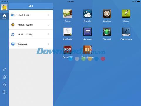 iZip für iOS 11.04 - Komprimieren und dekomprimieren Sie Dateien auf dem iPhone / iPad professionell
