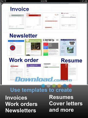 Office Note für iPad 1.3 - Umfassendes Textverarbeitungsprogramm für iPad