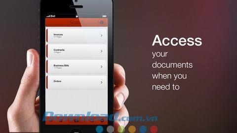 Scanify Lite pour iOS 1.0 - Application gratuite de numérisation de documents pour iPhone / iPad