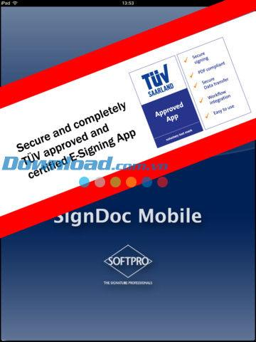 SignDoc Mobile for iPad2.0.7-iPad用の電子署名を作成する