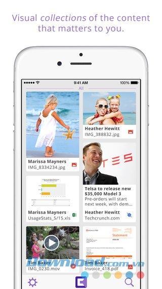 iOS1.1.21用のキューブ-iPhone / iPadでオンラインでデータを便利に管理