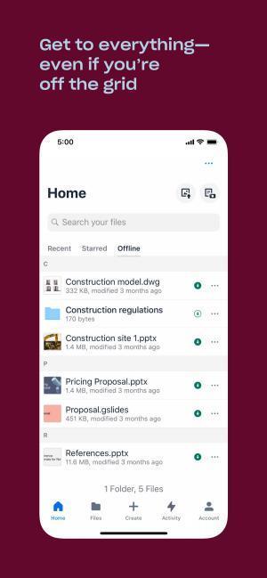 Dropbox für iOS 216.2 - Der beliebteste Cloud-Speicherdienst