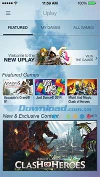 Uplay pour iOS 5.8.0 - Jouez et gérez efficacement des jeux sur iPhone / iPad