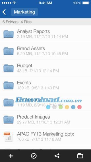Box für iOS 3.5.0 - 10 GB freier Speicherplatz für iPhone / iPad