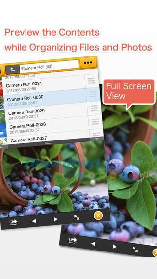 FileCrane für iOS 1.1.0 - Professioneller Dateimanager auf iPhone / iPad